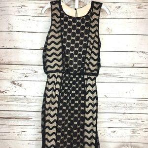 London Times lace overlay maxi dress size 8